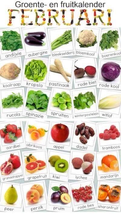 Super Wie Wat Waar Woensdag #14 - Groenten en fruit van het seizoen &GM04